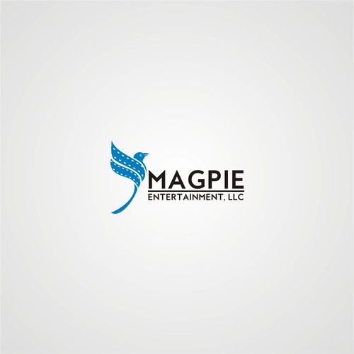 logo concept for Magpie Ent.