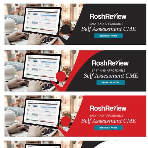 Banner Design for RoshReview