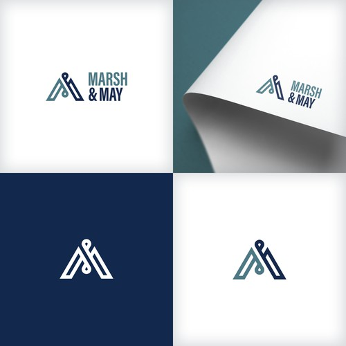 Minimal logo for project consultancy