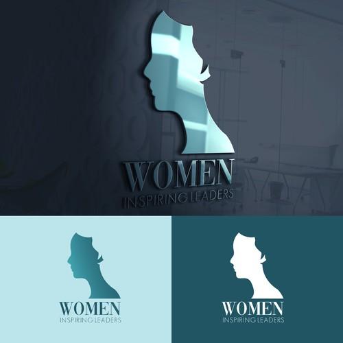 Women Inspiring Leaders 2nd Logo Design