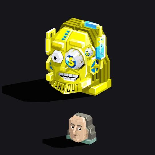 Crazy Benjamin Franklin