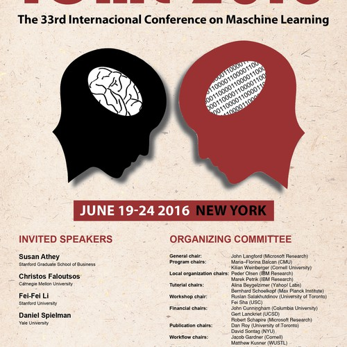 Internacional conference on maschine learning