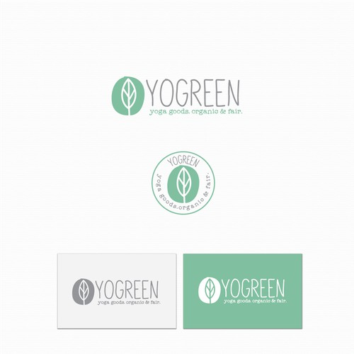 Concept for yoga organic fair trade.