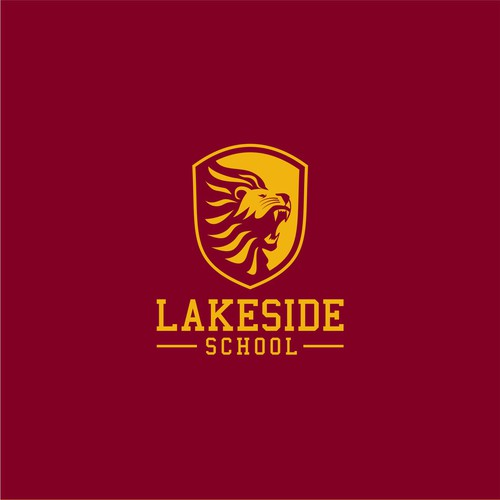 a 2 hour logo challenge for a school's athletic brand.