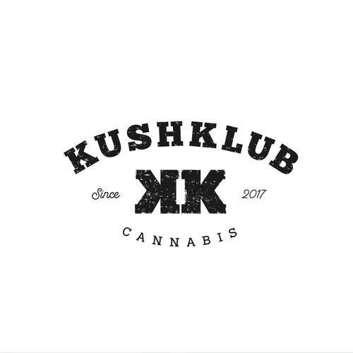 Bold logo concept for Kush Klub Cannabis