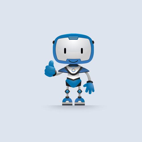 Panda Robot mascot