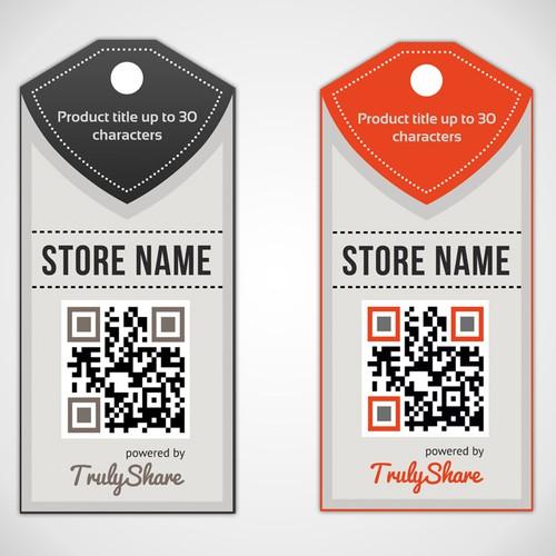 Design eye-catching retail tag