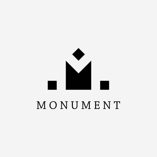 Minimalistic logo for company