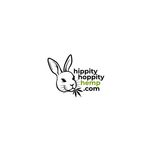 HippityHoppityHemp.com Logo Concept