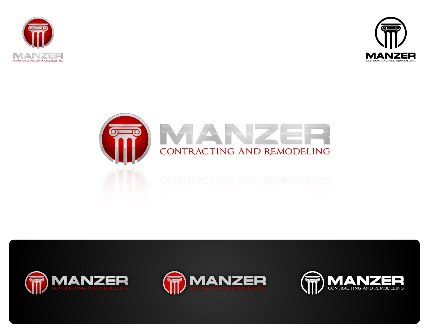 New logo wanted for Manzer Contracting & Remodeling