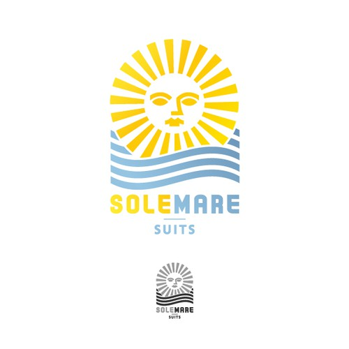 Create the next logo for Sole Mare Suits