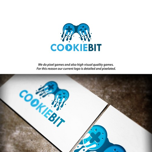 EPIC AND LEGENDARY! New logo - Cookiebit (Game Studio)