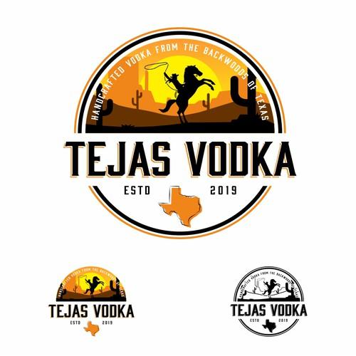 logo concept for Tejas Vodka