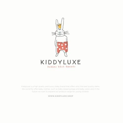 Logokonzept für eine Baby- und Kinderkleidungsmarke