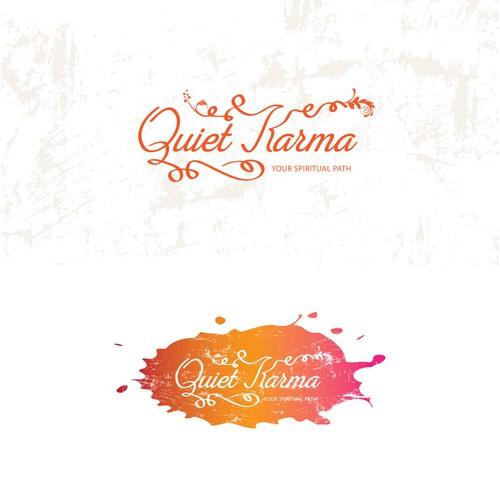 Quiet Karma logo design