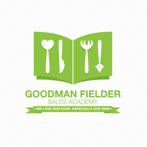 Create the next logo for Goodman Fielder Sales Academy or Goodman Fielder Commercial Excellence Program