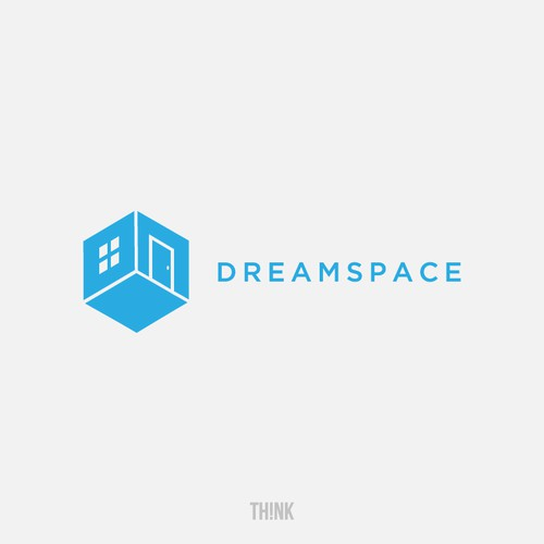Logo for Dreamspace, a 3D home design tech start-up
