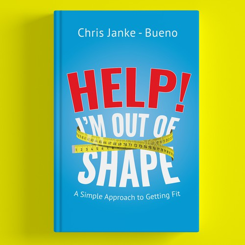 Book cover 'HELP I'M OUT OF SHAPE!'