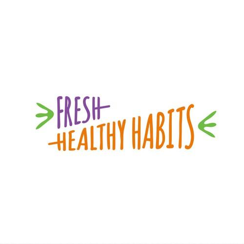 Fresh Healthy vegetabole logo for fresh produce
