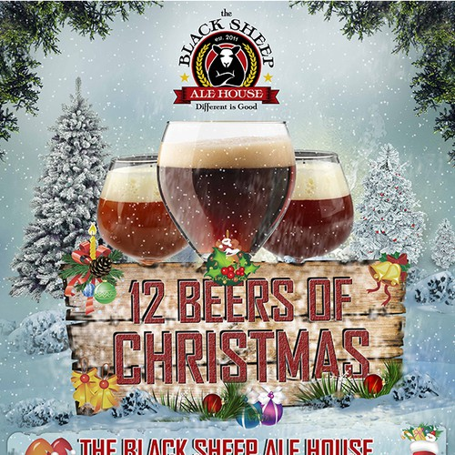 The Black Sheep Ale House 12 Beers of Christmas