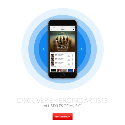 Landing Page for SongCast
