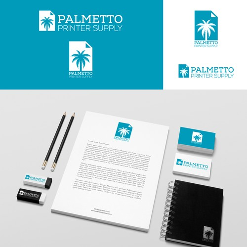 Logo For Palmetto Printer Supply