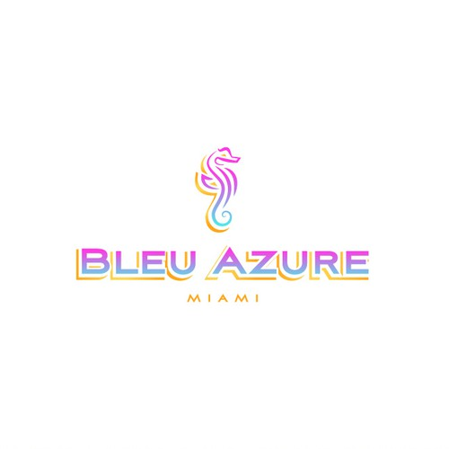 Bleu Azure - Create a Women's Luxury Resort Wear Logo