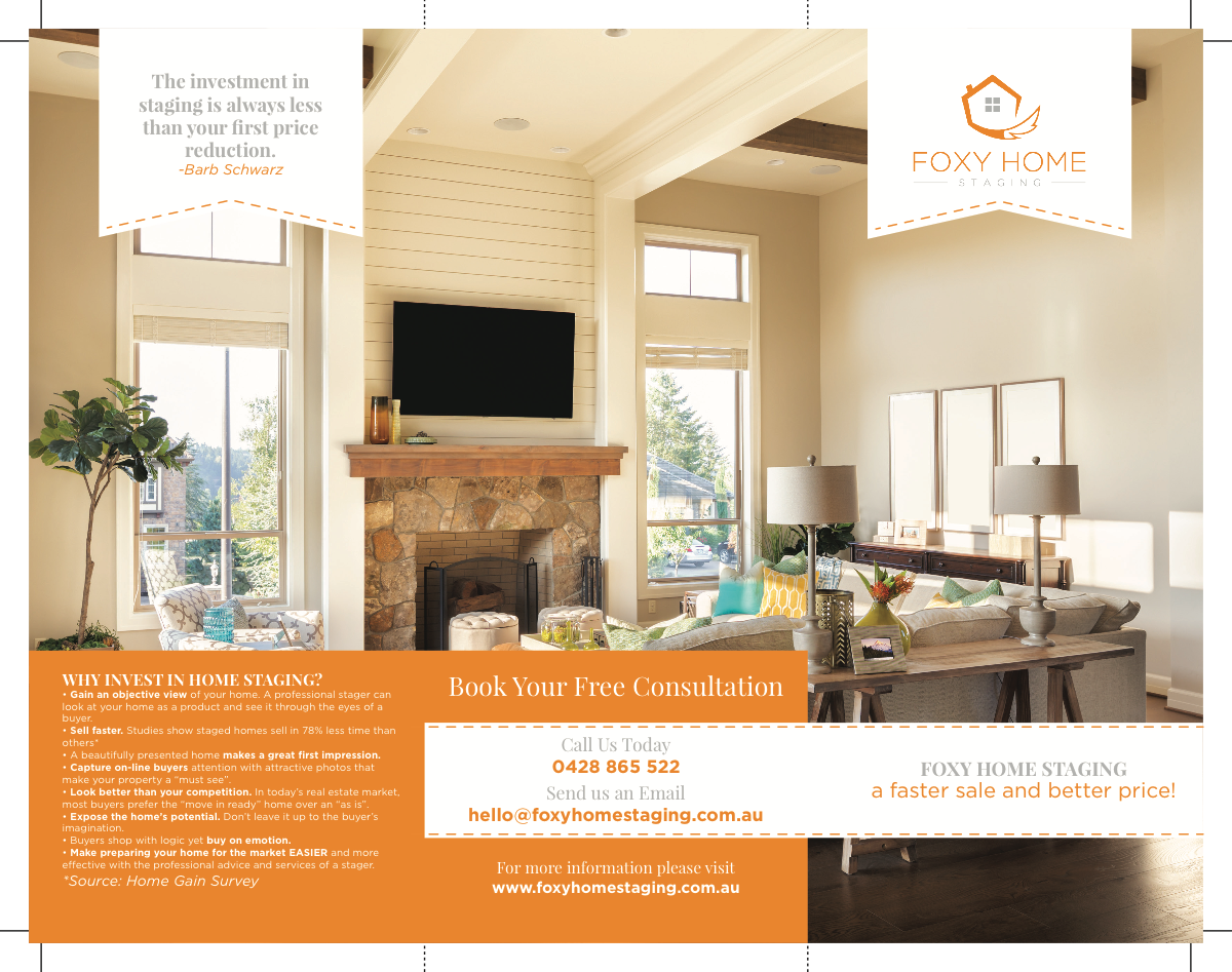 Home Staging Brochure Update