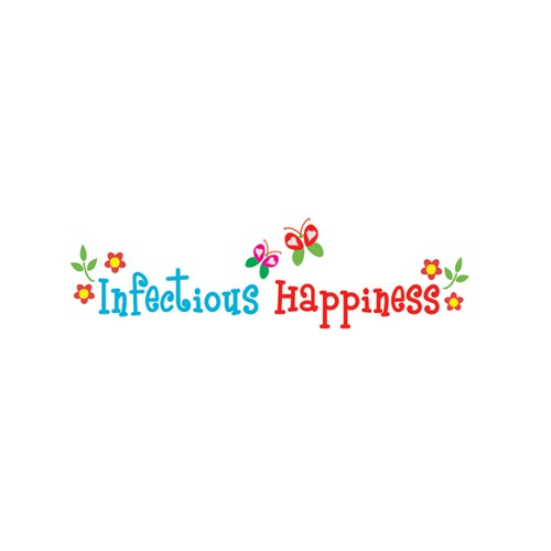 Create a whimsical happy design for a life coach - maybe birds/trees/flowers/butterflies hippee bus peace love sign