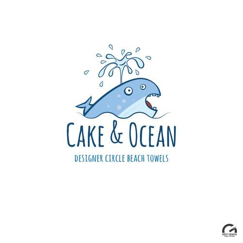 Logo design for beach towel shop