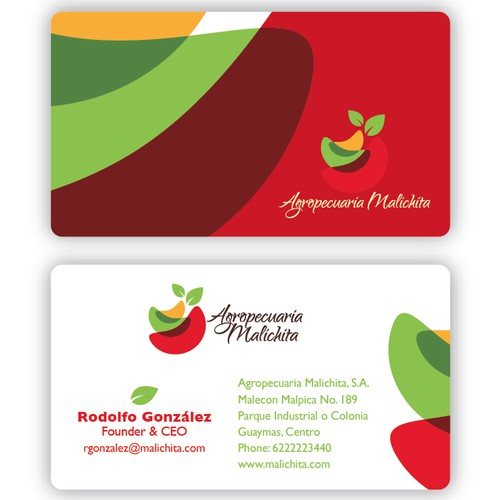 New stationery wanted for Agropecuaria Malichita