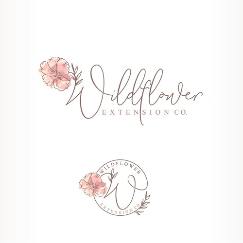 chic and modern logo for a high end extension company
