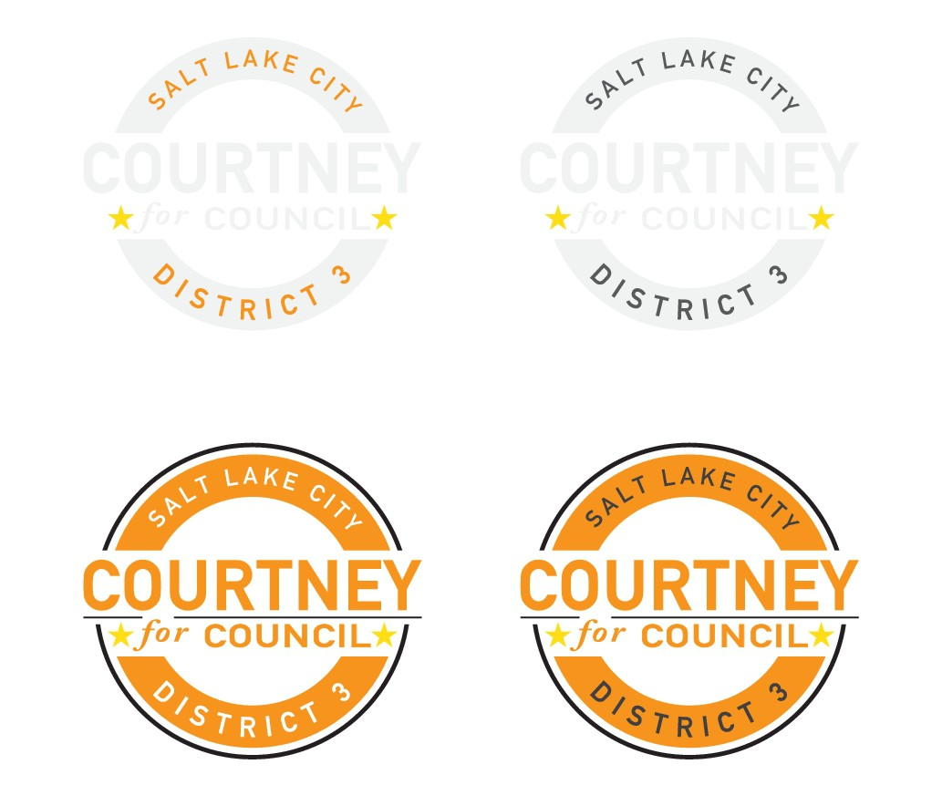 Young candidate for Salt Lake City Council needs a hip logo that stands out from the rest
