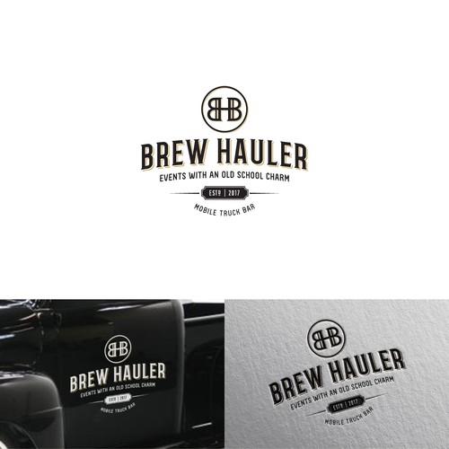 Logo for a vintage mobile truck bar