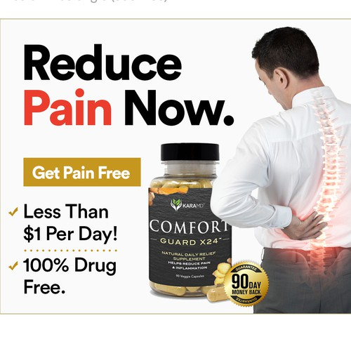 KaraMD Comfort Guard Banner Ads