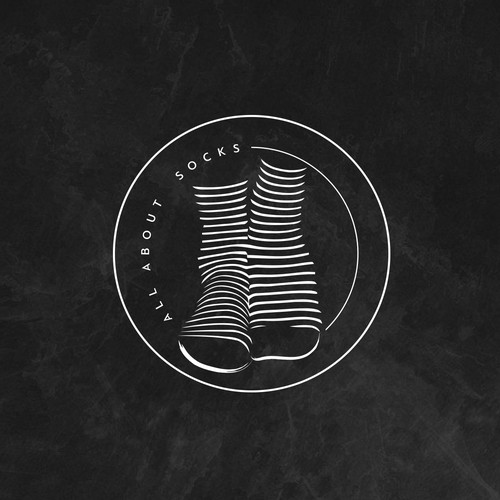 All About Socks Logo Design