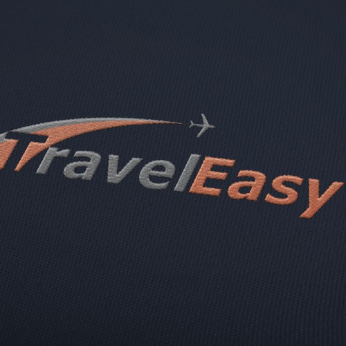 Embroidered Travel Logo