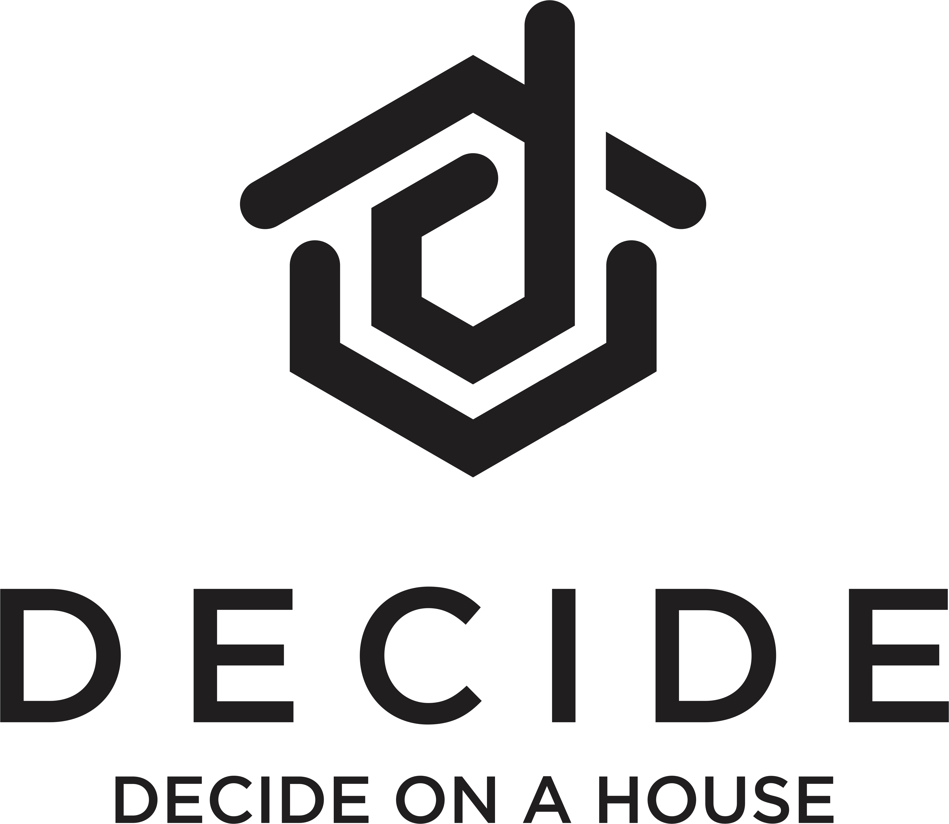 Create a logo for a house buying app