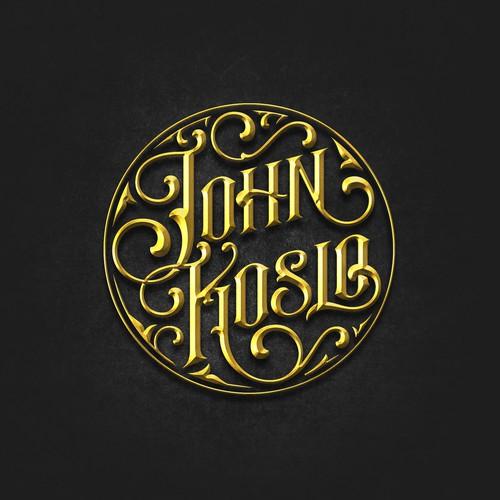 """Logo for """"John Koslo"""" a Musical Artist"""