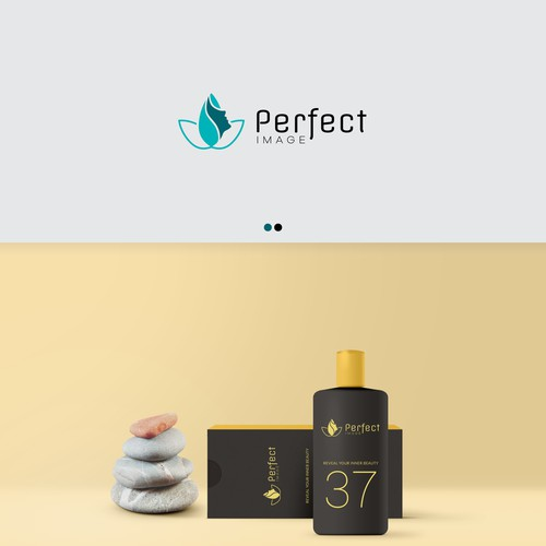 Logo design for a cosmetics company.