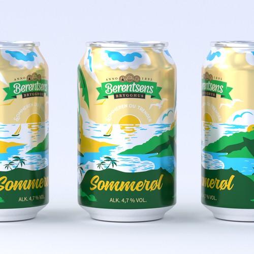 Beer can SOMMERØL