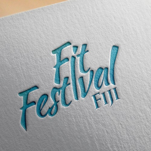 Fun & Inspiring Logo For Fit Festival