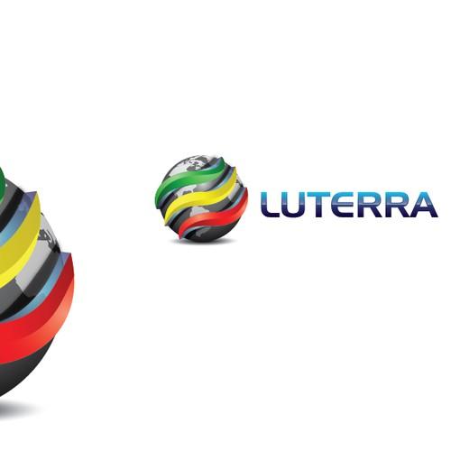 3d Logo For Luterra