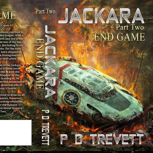 Bold Sci-Fi Book Cover Design