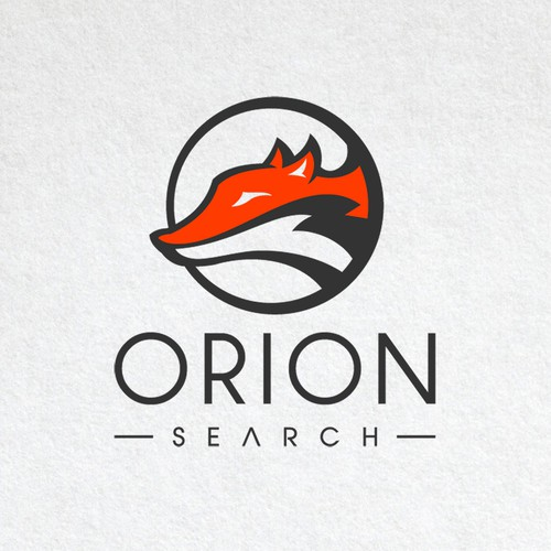Professional and modern logo that incorporates a fox for a recruitment agency