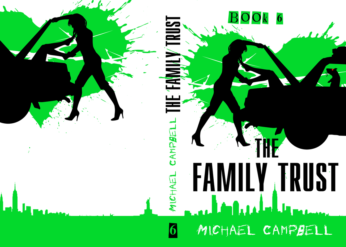 Variations of Book 4 cover for Books 5 & 6, new banner with all books on it