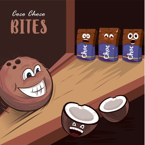 Coco Choco Bites