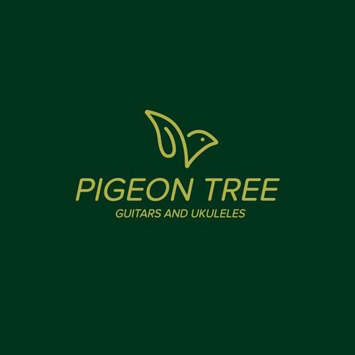 Minimalistic Pigeon logo