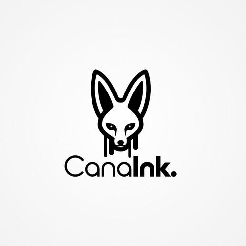Blanford's Fox Head Logo for T-Shirt Printing Website