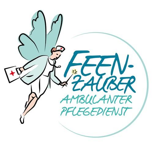 Nursing company logo